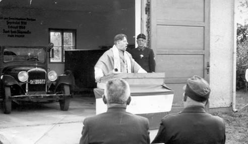 Fahrzeugsegnung 1958